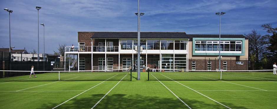 Architects Malahide Tennis Club extension Paul O'Dwyer Nuala Burke