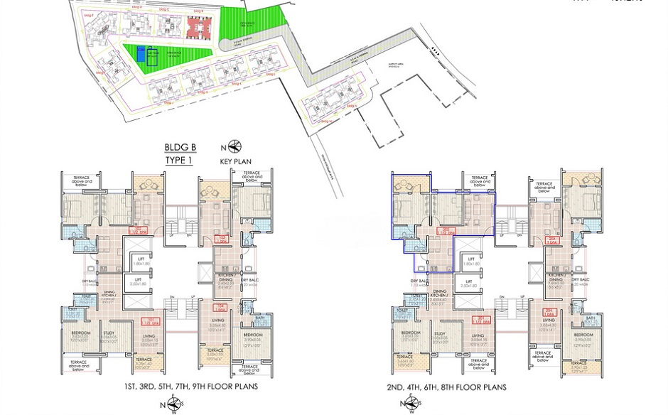 Outline Apartment Building Plans 940