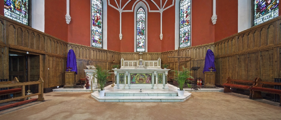 Conservation Architects St Mary's Church Dundalk Altar