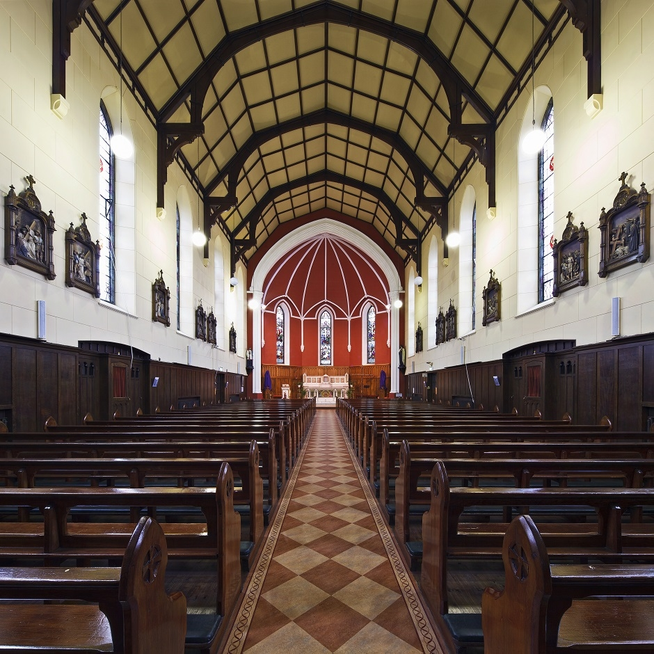 Conservation Architects St Mary's Church Dundalk Interior