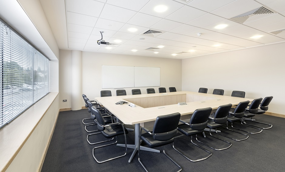 Interior Architects Fit-out Boardroom Nuala Burke Paul O'Dwyer