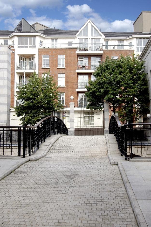 Architects Dublin Castle Apartments Development bridge