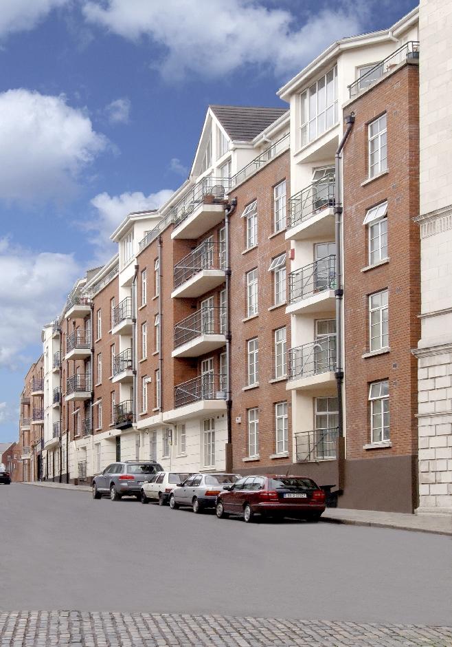 Architects Dublin Castle Apartments Development street