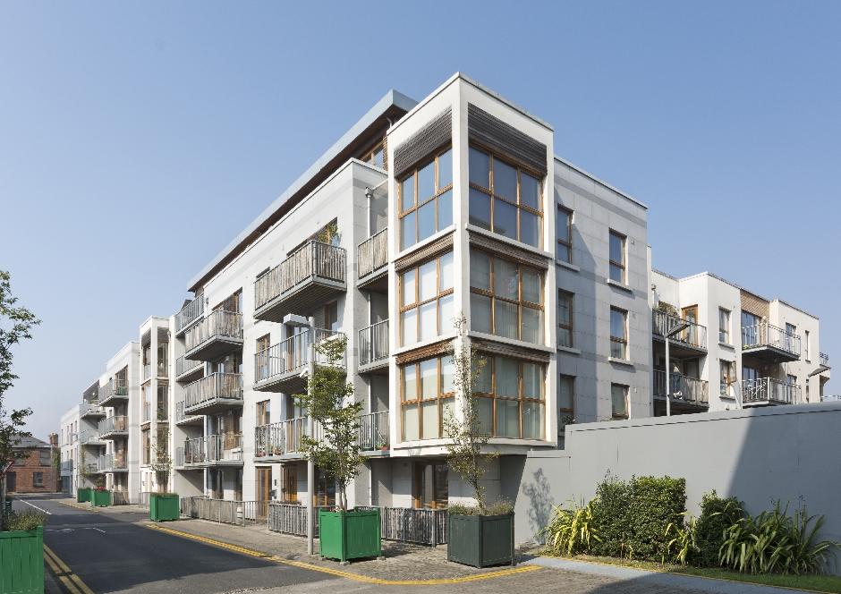 Architects Dublin Apartment Development Fairview Street 3
