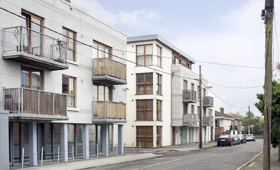 Architects Dublin Apartment Development Fairview Street
