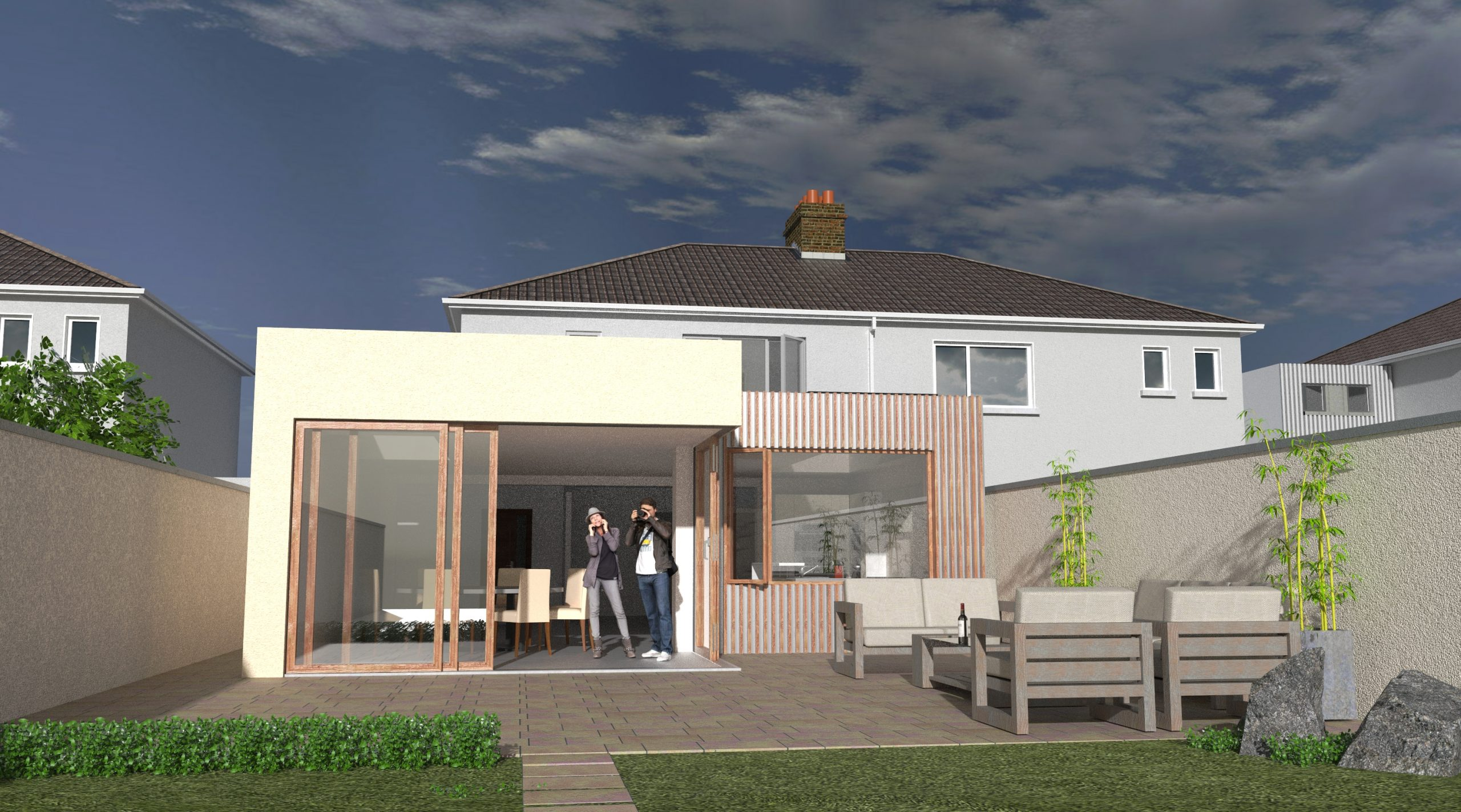 Domestic extension, private client. Malahide Co Dublin